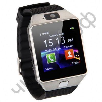 Smart часы (умные часы ) WD-05 серебро ( GSM SIM, microSD ) телефон, Bluetooth Андроид Айфон музыка камера фото видео голос. связь телеф.номер смс барометр шагомер датчик сна альтиметр  и другие приложения