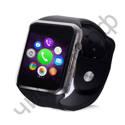 Smart часы (умные часы ) WD-06 черный ( GSM SIM, microSD ) телефон, Bluetooth Андроид Айфон музыка камера фото видео голос. связь телеф.номер смс барометр шагомер датчик сна альтиметр  и другие приложения
