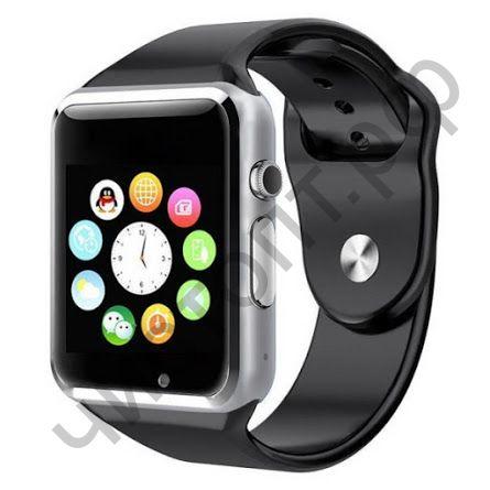 Smart часы (умные часы ) WD-06 серебро ( GSM SIM, microSD ) телефон, Bluetooth Андроид Айфон музыка камера фото видео голос. связь телеф.номер смс барометр шагомер датчик сна альтиметр  и другие приложения
