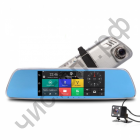 Автовидеорегистратор зеркало + камера + GPS ERODA HAD-E51816G/20